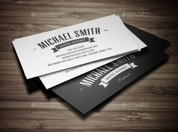 Vintage Personal Business Card