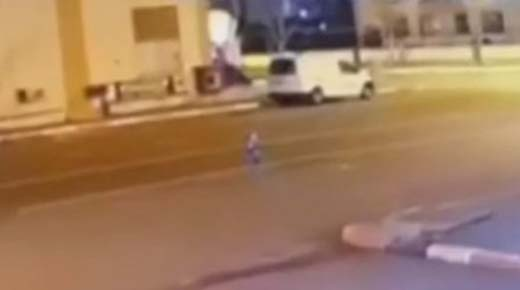 Cámara de seguridad capta a una criatura humanoide en las calles de Turquía