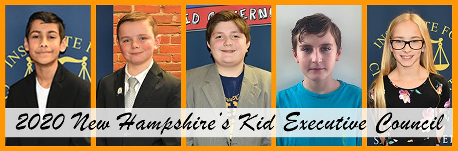 From the 2020 New Hampshire's Kid Executive Council