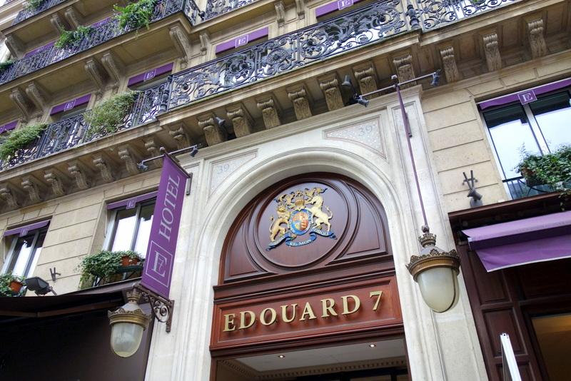 Mes adresses h tel edouard 7 audace et cr ativit pour for Hotel paris pour 2 heures