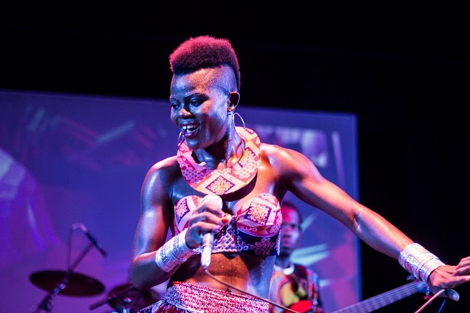 Watch: Wiyaala Brings AMPE Challenge To London!