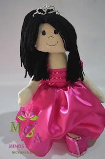 Boneca de Pano Debutante