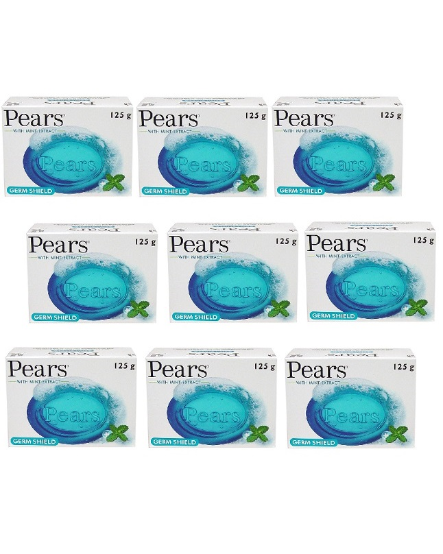 Pack Of 9 - Pear Germ Shield Soap 125 g