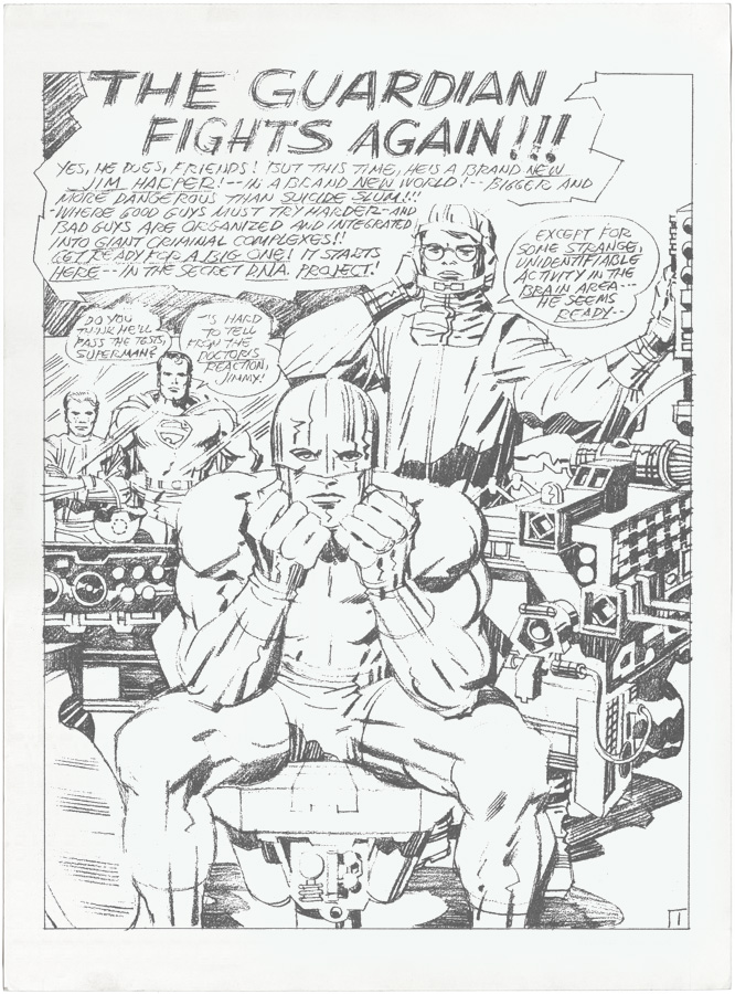 Capns Comics Some Jack Kirby Pencils