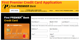 www.premiercardoffer.net: First Premier Credit Card Application: Apply Online