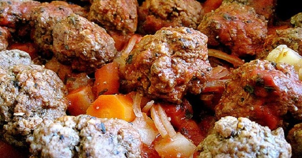 Meatball Stew Recipe