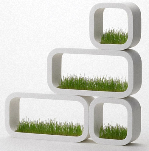 Modern Shelf Planter