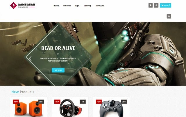 Leo Game Gear - Free Responsive PrestaShop Theme
