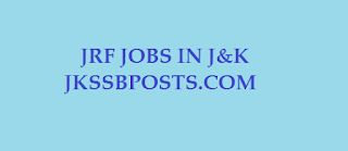 Project Fellow and JRF Jobs in J&K