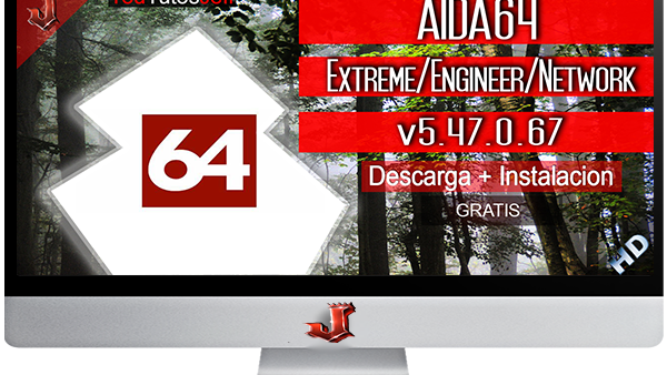 AIDA64 Extreme, Engineer, Network v5.70.3800 FULL ESPAÑOL | 2016