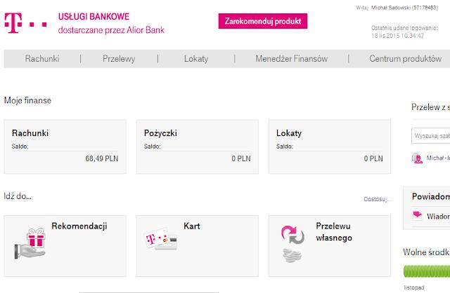 Tomasz Kot - Jestem w T-Mobile zwrot wydatków kartą do konta