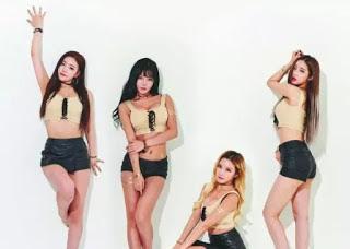 NSFW! Laysha, Girlband Korea Yang Erotis