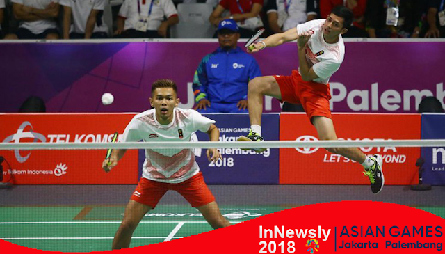 Asian Games Indonesia - Bulu Tangkis Regu Putra
