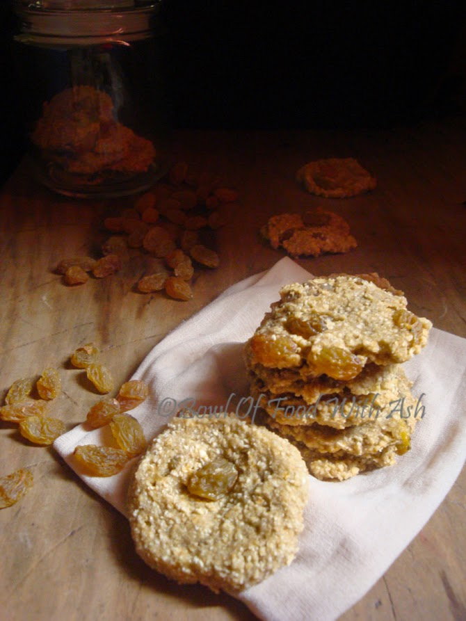 Banana Oats cookies Recipe