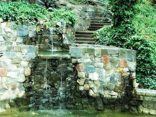 Fonte nos Jardins do Hotel de Villavicencio