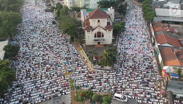 gereja idul fitri