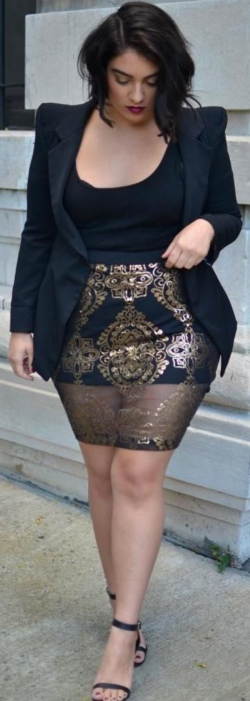 Style For Plus Size Ladies 4 Best Outfits Plus Size Fashion Style
