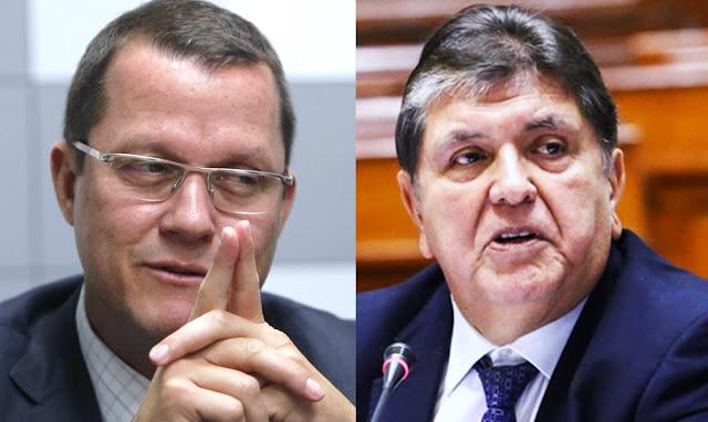 Jorge Barata y Alan García