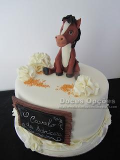 horse cake fondant sugar paste