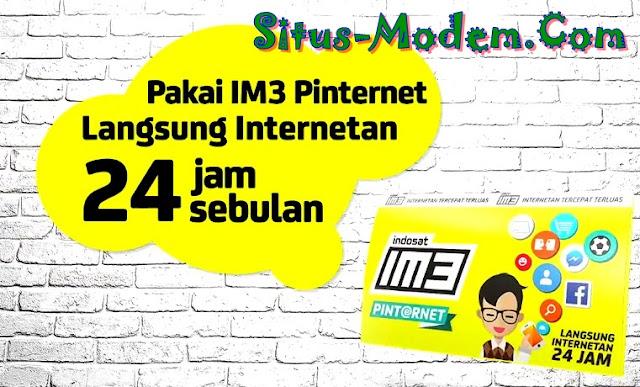 Mau Banyak Internet Gratisnya, Pakai Kartu Perdana Pinternet IM3 Aja