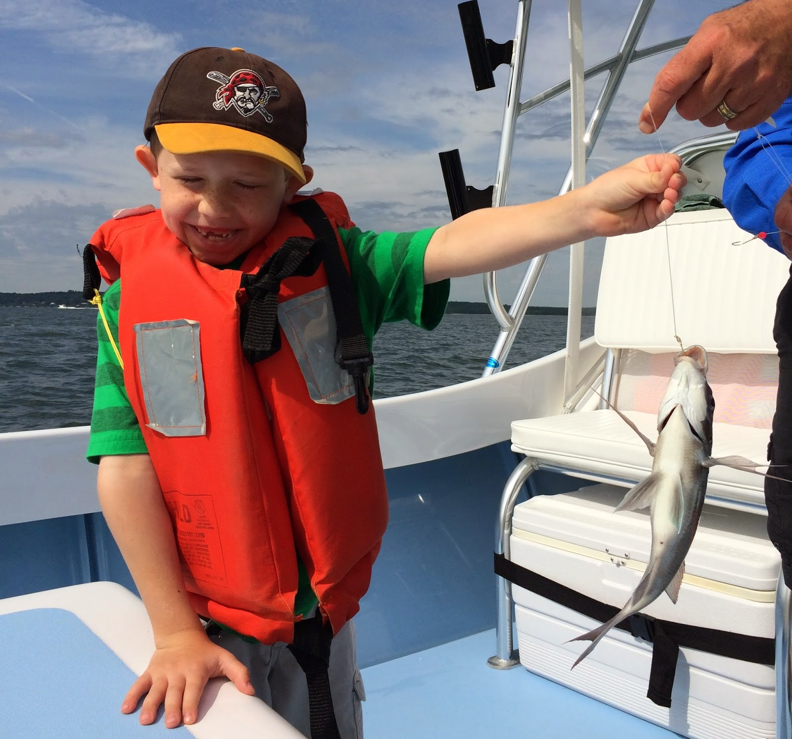 no fluke fishing: It's not all about the fish