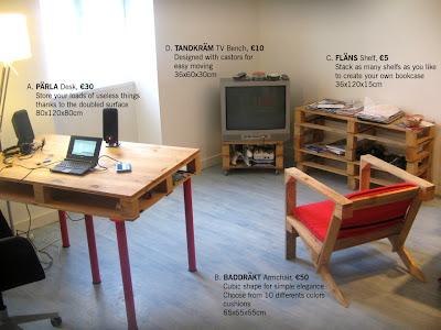 30 ideas para tu dormitorio con palets bricolaje Muebles hechos con estibas