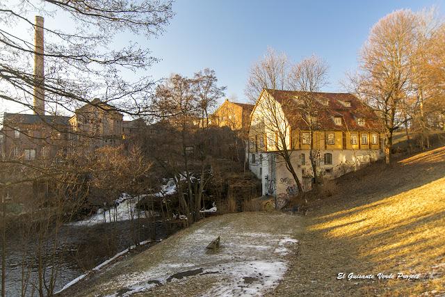 Sendero Industrialización Akerselva - Oslo por El Guisante Verde Project