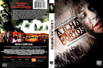Filme A Ilha dos Mortos (Survival Of The Dead) DVD Capa