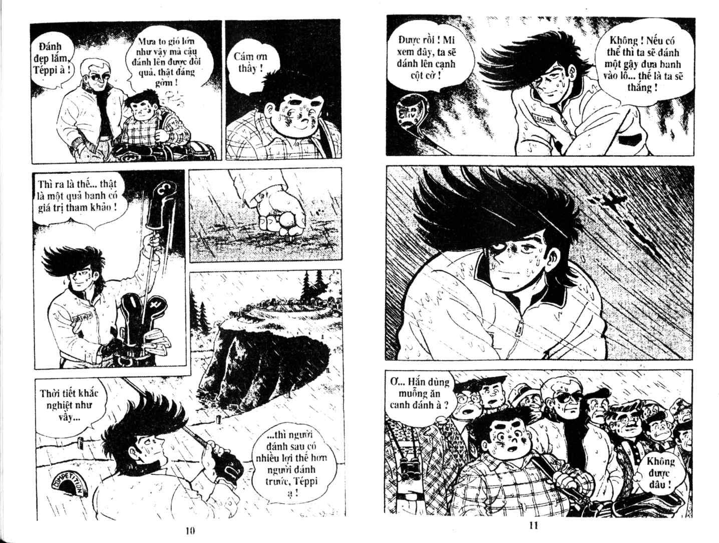 Ashita Tenki ni Naare chapter 10 trang 4