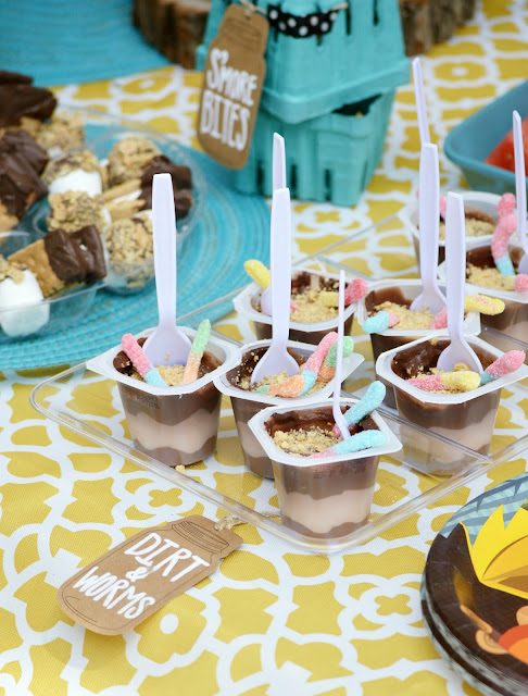 Camping Theme Party Ideas by Orchard Girls Blog