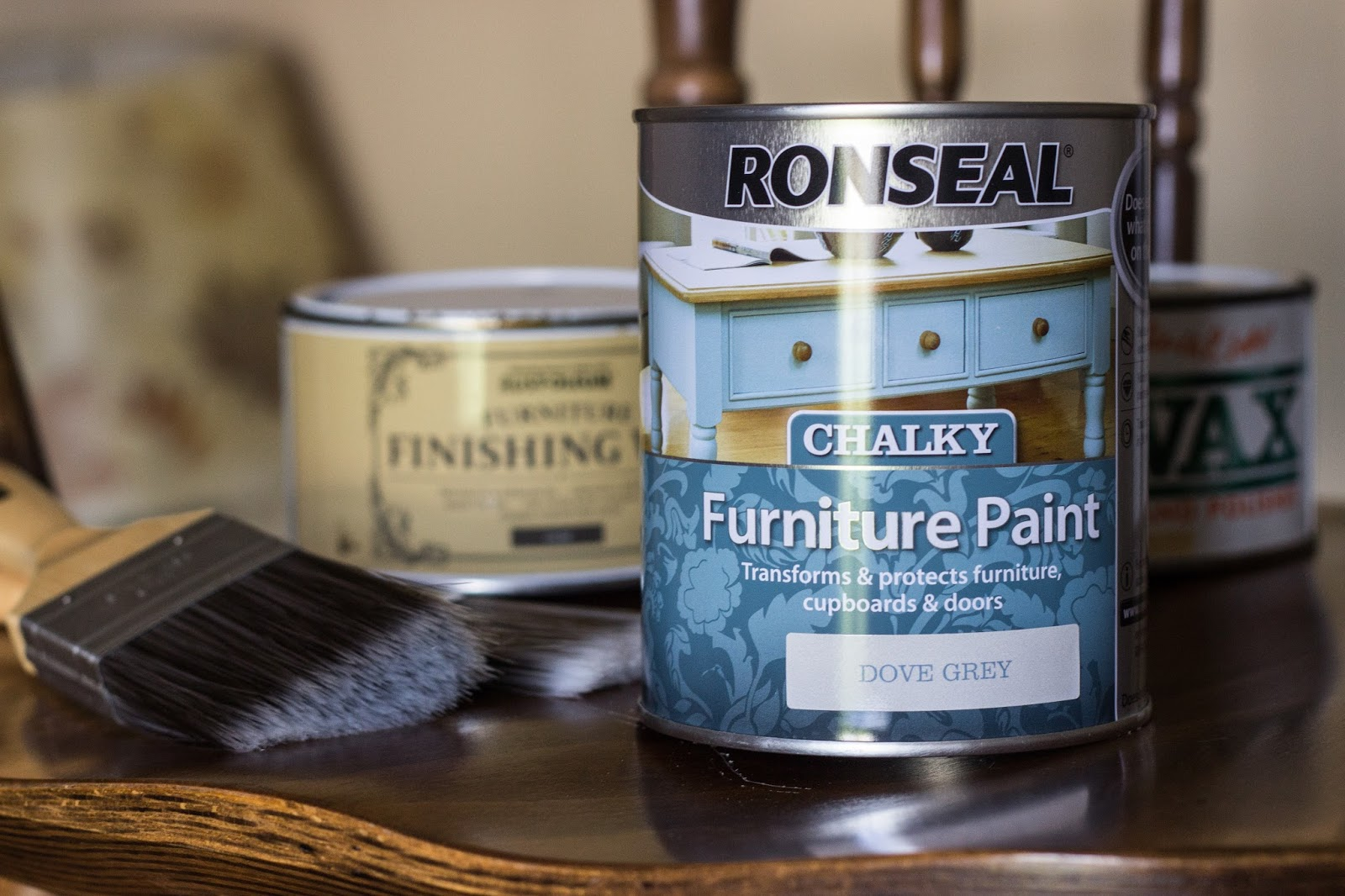 Ronseal chalky furniture paint ronseal - Ronseal Furniture Chalk Paint Makeover