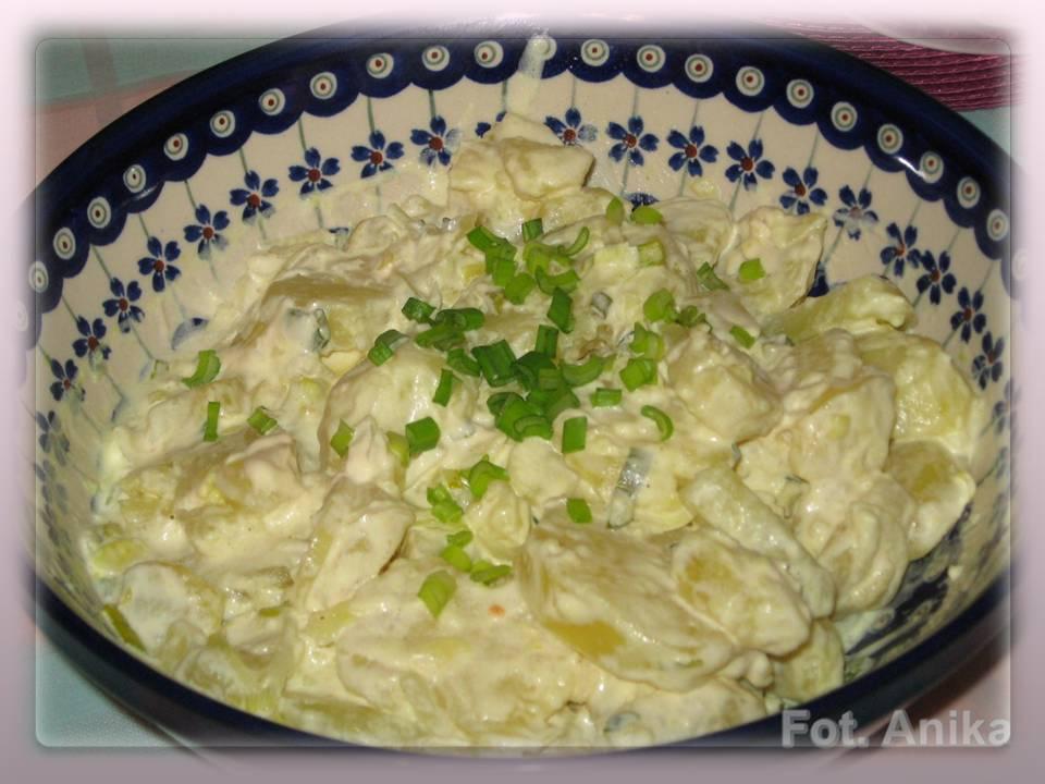 Domowa Kuchnia Aniki Klasyczna Niemiecka Salatka Ziemniaczana