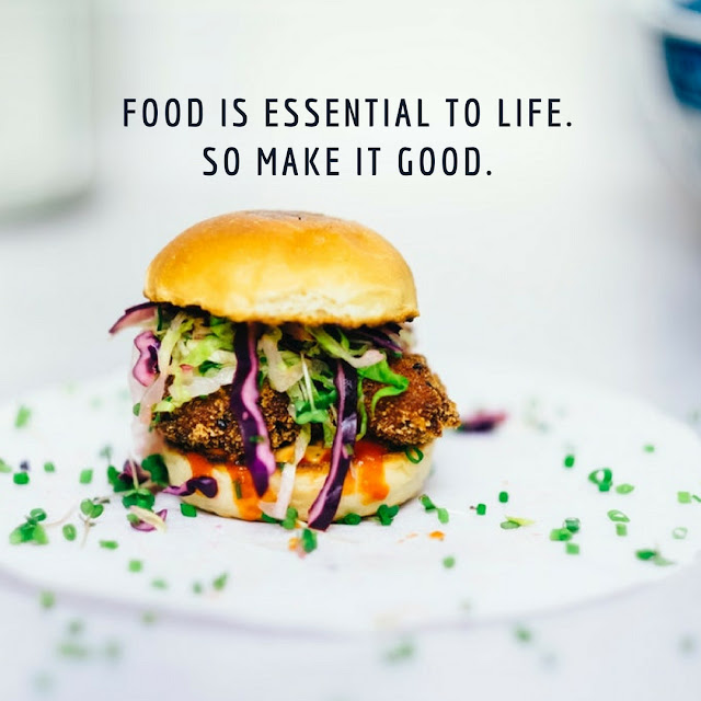 quotes about good food and life