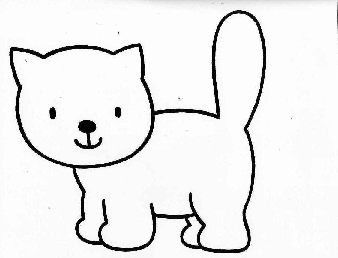 Gifsgifs: Desenhos Para Colorir De Cachorrinhos E Gatinhos