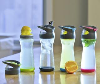 Detox water bottles