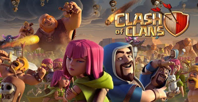 Free Download Clash of Clans Mod APK Full Hack Unlimited Gold/Elixir/Gems Update Terbaru 2018 COC