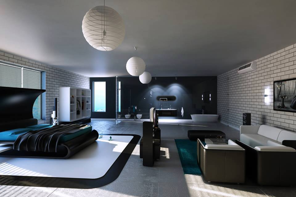 20%2BModern%2BBedroom%2BDecorating%2B%2526%2BFurniture%2BIdeas%2B%252812%2529 20 Modern Bedroom Decorating & Furniture Ideas Interior