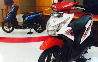 Motor terlaris 2015 Honda Beat Series