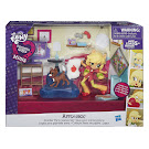 MLP Equestria Girls Minis Sleepover Slumber Party Game Set Applejack Figure