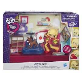 My Little Pony Equestria Girls Minis Sleepover Slumber Party Game Set Applejack Figure