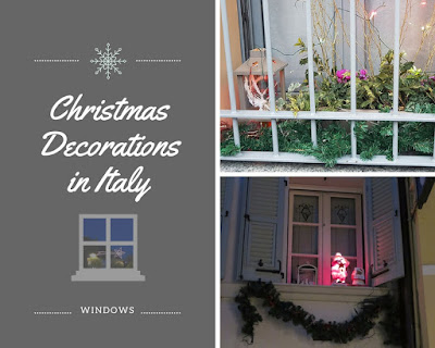 Italian Christmas Window Decorations