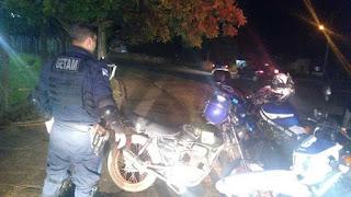Guarda Municipal de Ponta Grossa (PR) recolhe moto com numeração raspada