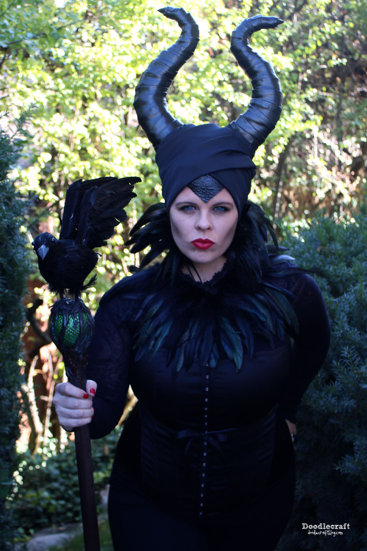 Young Maleficent Halloween Costume Diy