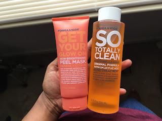 Formula skin care