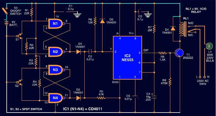 Auto Switch Wiring Diagram Schematic Diagram Electronic Schematic