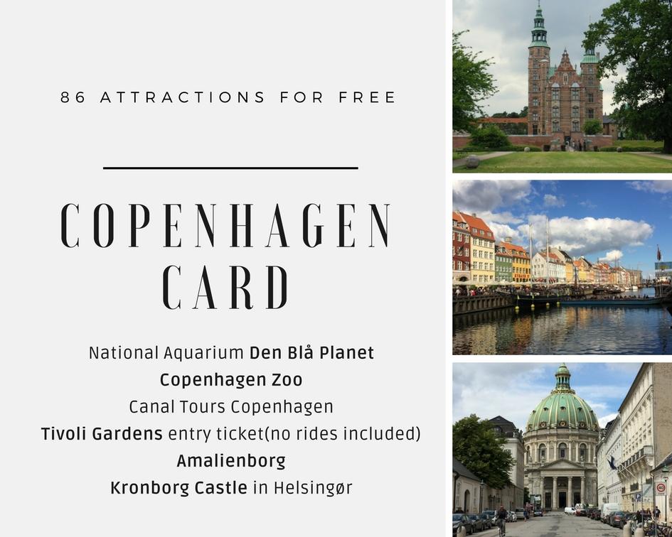 darmowe bilety do 86 atrakcji Karta Kopenhaska