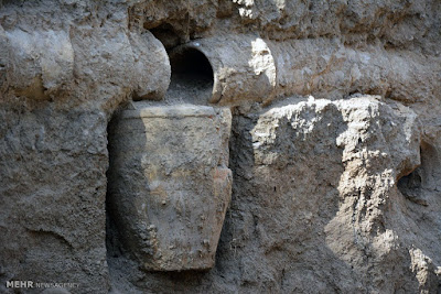 Ancient aqueduct system uncovered in Iran's Borujerd