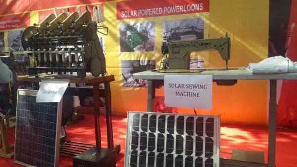 Lobel Solar Power System: Lobel Solar Charkha (Gandhiji