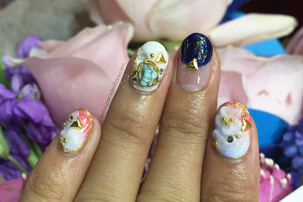 Nautical Floral Nails with J Nails Garden: Review – Roanna Tan ...