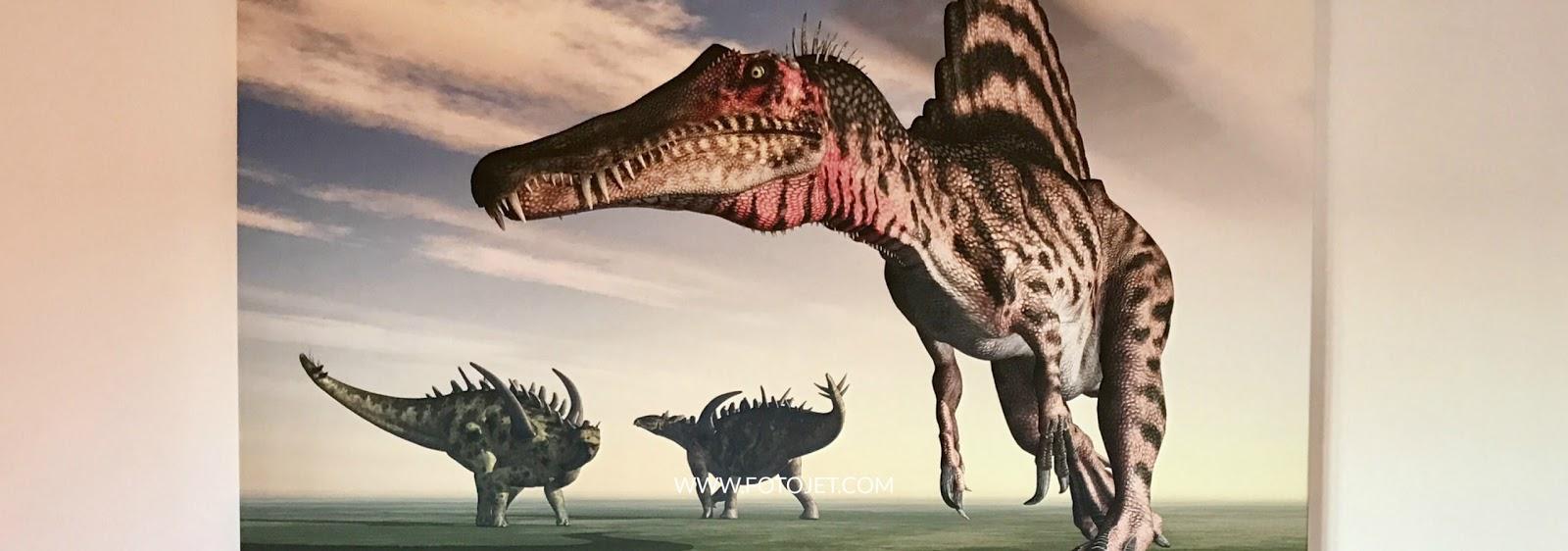 dinosaur canvas keeps my child dreaming